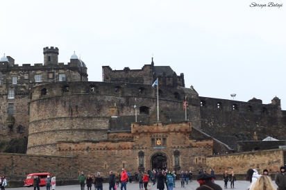 The Edinburgh Castle!