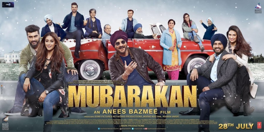 Mubarakan (2017), A Review…