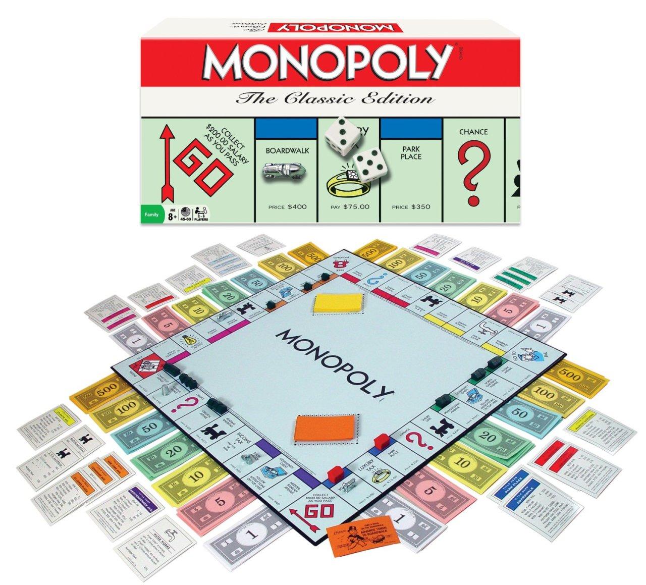 Oh No! NotMonopoly!
