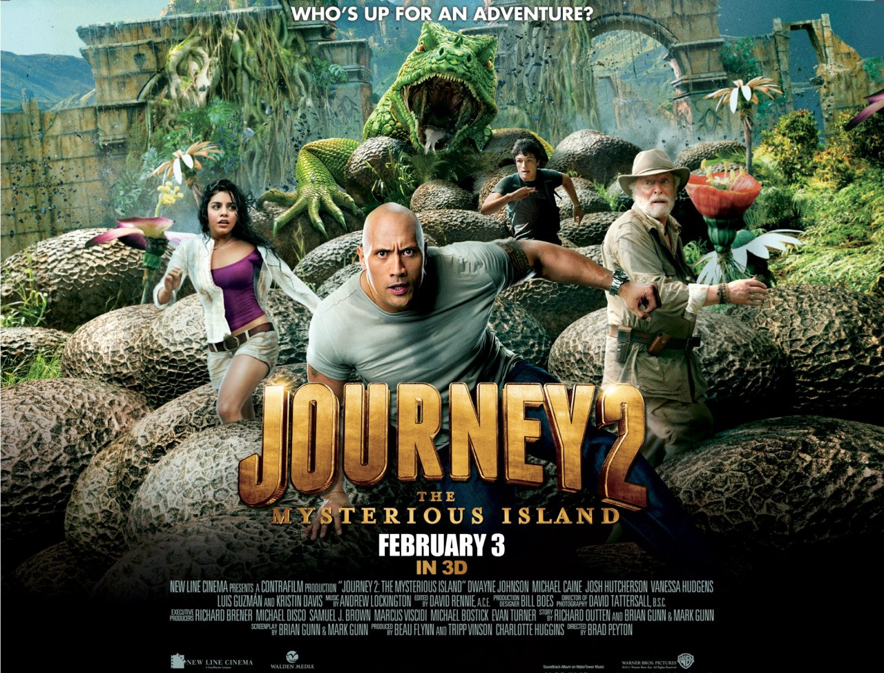 Journey 2: The Mysterious Island, A Review…